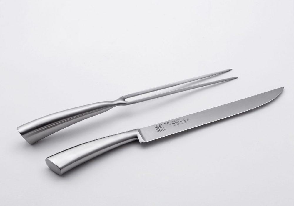 BK71304,+BK70304+-+FORCHETTA+TRINCIANTE+E+COLTELLO+ARROSTO+-+CARVING+FORK+AND+KNIFE